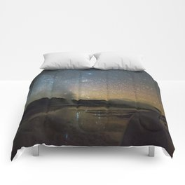 Grand Prismatic Spring Comforters