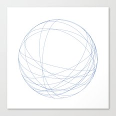 #491 Orbits – Geometry Daily Canvas Print