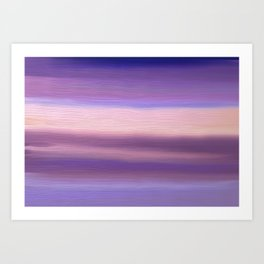 Sky colors  Art Print