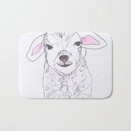 Cheeky lamb Bath Mat