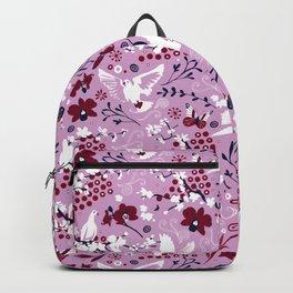 Hopeful carrier doves Backpack