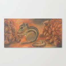Poor thing, worked her tail right off Canvas Print