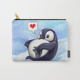 Roly Poly Penguin Carry-All Pouch
