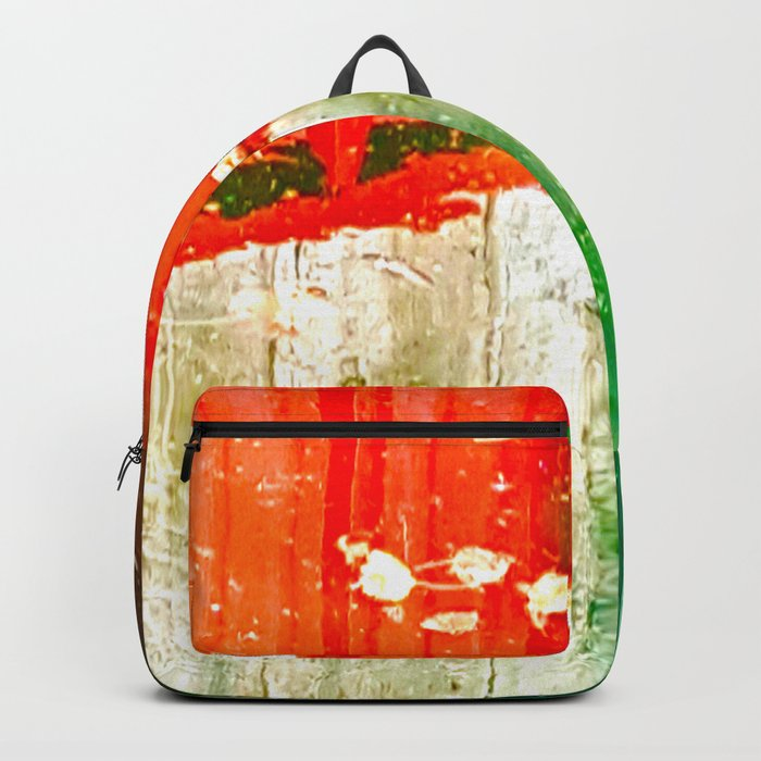 City Aflame and Drowning Backpack