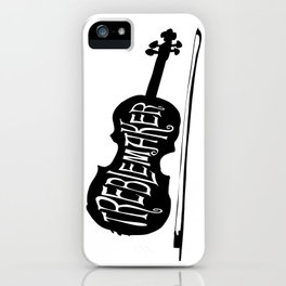 Treblemaker iPhone Case