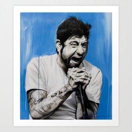 'Chino Moreno' Art Print