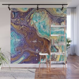 Copper Love Geode Wall Mural