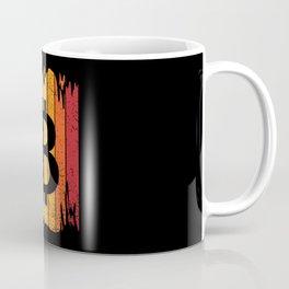 Vintage Bitcoin Crypto Cryptocurrency Gift Coffee Mug
