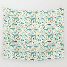 Park Dogs Wall Tapestry