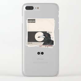 His Master's Voice - Magpie Clear iPhone Case
