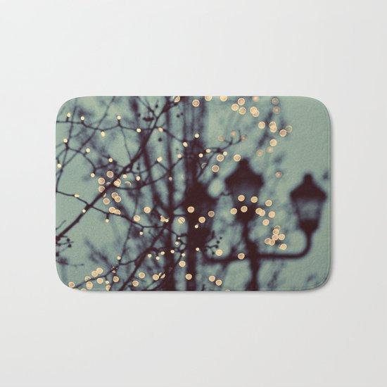 Winter Lights Bath Mat