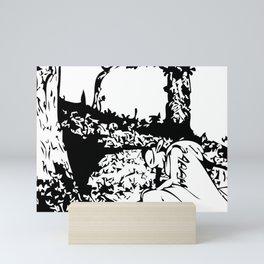 False Submission Mini Art Print