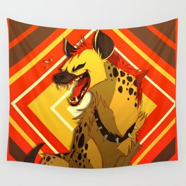 Hyena Wall Tapestry