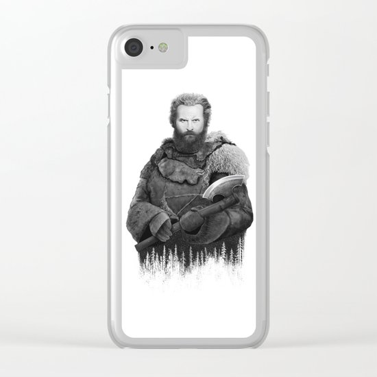 Tormund from GAME OF THRONES Clear iPhone Case