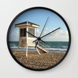 Lifeguard Stand II Wall Clock