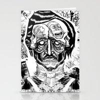 poe Stationery Cards featuring Poe by Theo Szczepanski