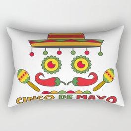 Cinco de Mayo Rectangular Pillow