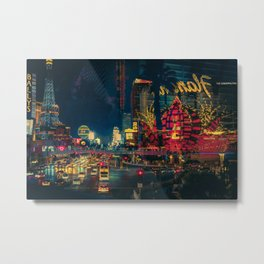 Welcome to Vegas/ Anthony Presley Photo Print Metal Print