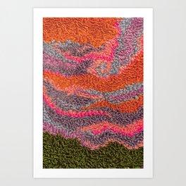 Melting Sky Art Print