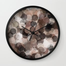 Coffee Bubbles #Society6 #Art #1 Wall Clock
