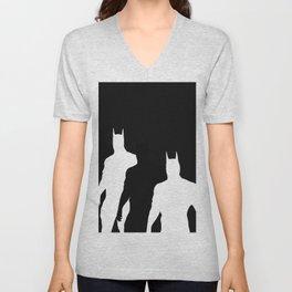 The Bat Hidden Profile Unisex V-Neck