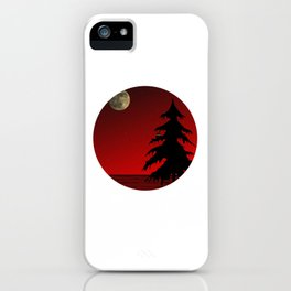 Moon design (Leila) iPhone Case