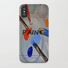 Paint! iPhone Case