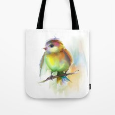 singing birdie Tote Bag