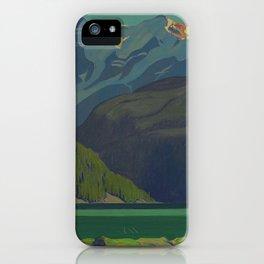 J. E. H. MacDonald, 'Lake O'Hara', 1929, oil on canvas Canadian Landscape Artist iPhone Case