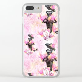 Fashion and Paris #2 Clear iPhone Case