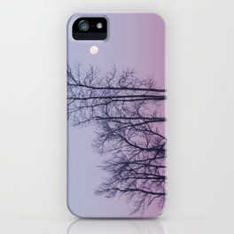 Winter comes to Sandbanks iPhone Case