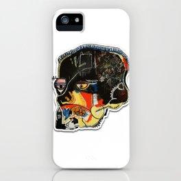 Skull: Homage to Basquiat iPhone Case
