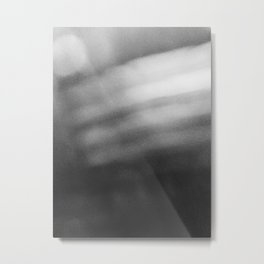 Blurred Metal Print