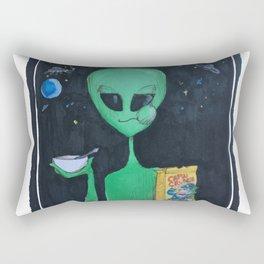 Breakfast in Space Rectangular Pillow