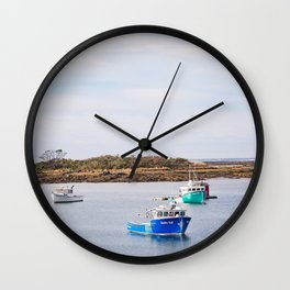Coastal Maine Mornings II Wall Clock