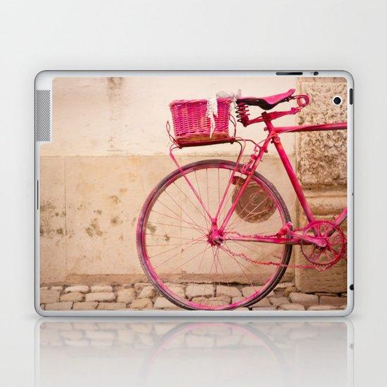 Lady in Pink Laptop & iPad Skin