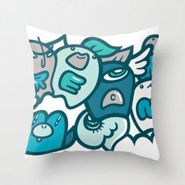 夢 - DREAM Throw Pillow