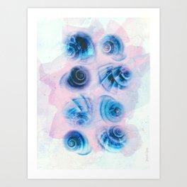 Espirales Art Print