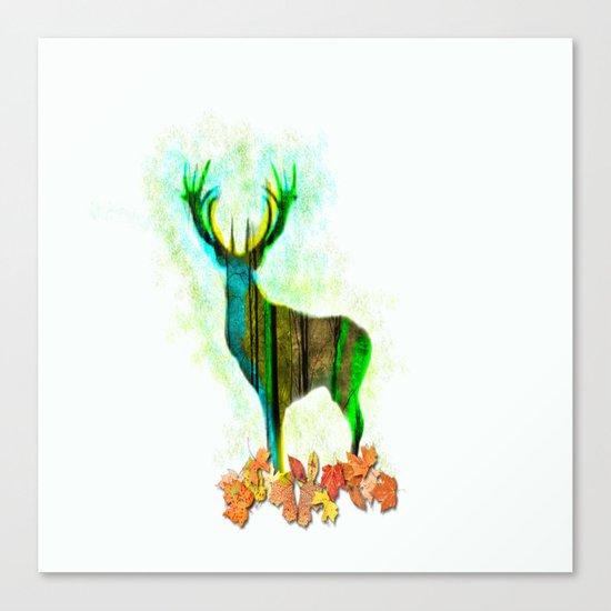 Deerskin Canvas Print