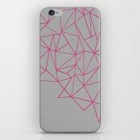 Ab Storm Hot Grey iPhone & iPod Skin