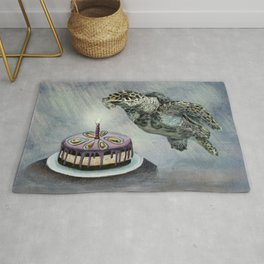 Turtle Birthday Rug