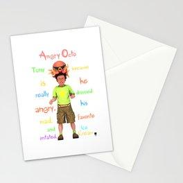 Angryocto - Tony's IceCream Stationery Cards