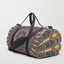 Bohemian oval mandala Duffle Bag