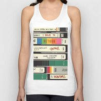 american psycho Tank Tops featuring American Psycho by r054