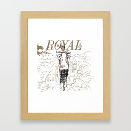 Hanna Royal Framed Art Print