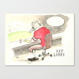 Larry Munson Tribute Canvas Print