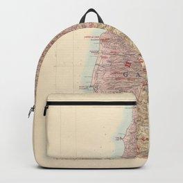 Upper Galilee Palestine Map Backpack