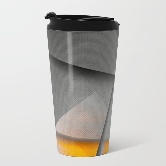 Sharp Sunset Metal Travel Mug