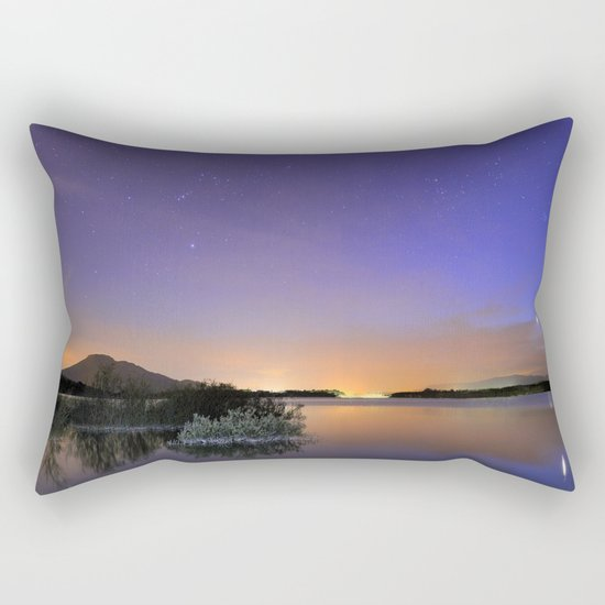 Venus, Orion, Taurus and the Pleiades Rectangular Pillow