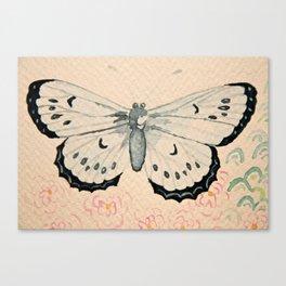 Le Papillon Canvas Print